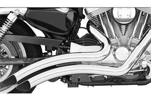 Freedom Performance Sharp Curve Radius Exhaust for '06-up Vulcan 900 -Chrome