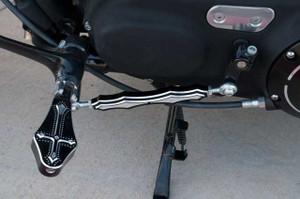 Precision Billet Shift Linkage for Harley Davidson Sportster -Darkside Edition -Black