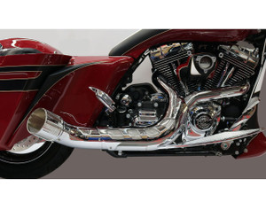 Paul Yaffe's Bagger Nation Cult 45 Collector 2-into1 System for Harley Davidson Touring Models