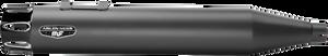 "Arlen Ness 4"" Deep Cut Slip-Ons for '95-16 FL Models -Black w/ Black End Caps"