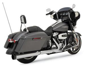 Khrome Werks 2-into-1 Torque Booster Conversion Kit for Harley Davidson Touring Models 2017-Up - Chrome w Black Billet Tip