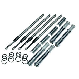 S&S Quickee Adjustable Pushrods with Cover Keepers for Harley Davidson '17-Up M8 Models