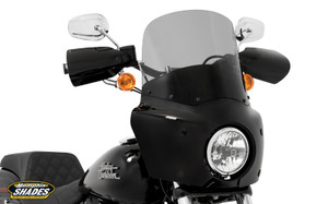 Memphis Shades Complete Road Warrior Fairing Package for Harley Davidson Dyna Models '06-Up
