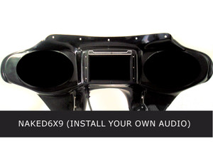 Hoppe Fairing with  6x9 Speaker Cutouts for Harley Davidson Free Wheeler FLRT (No Audio Installed)