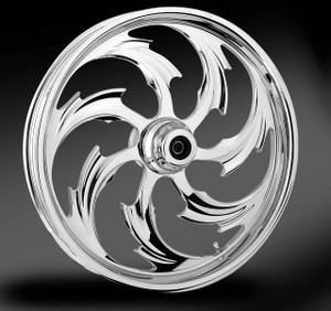 RC Components Assault Chrome Wheel for Harley Davidson Touring Models (Choose Options)