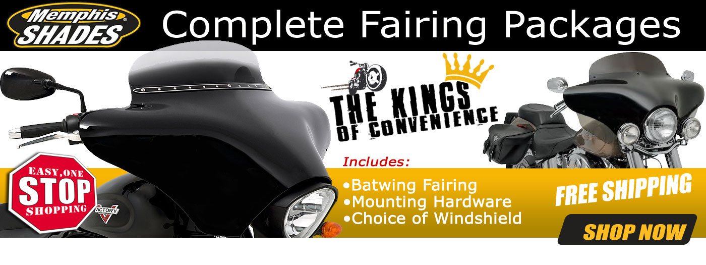 Memphis Shades complete fairing packages banner