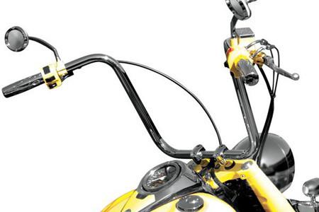 Baron custom kong bar handlebar click for fitment for Yamaha bolt ape hangers