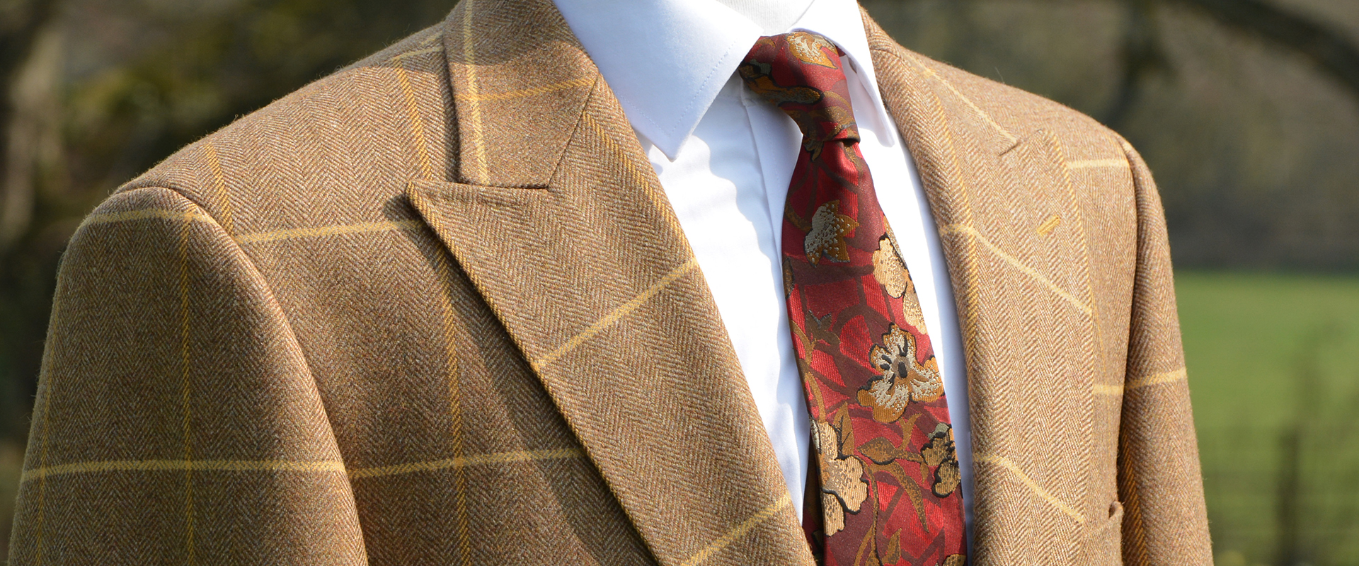 Custom Tailored Tweed Jackets and Suits