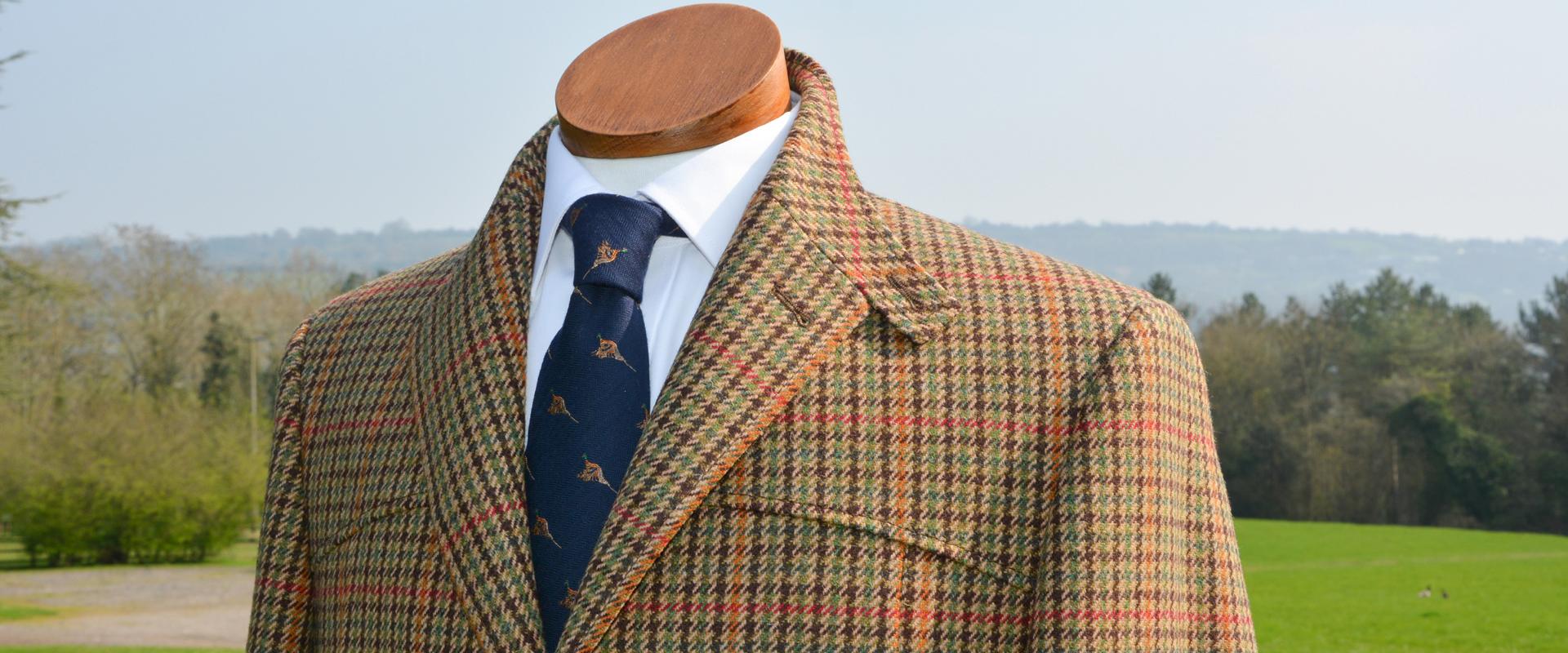 Full Norfolk Tweed Jacket