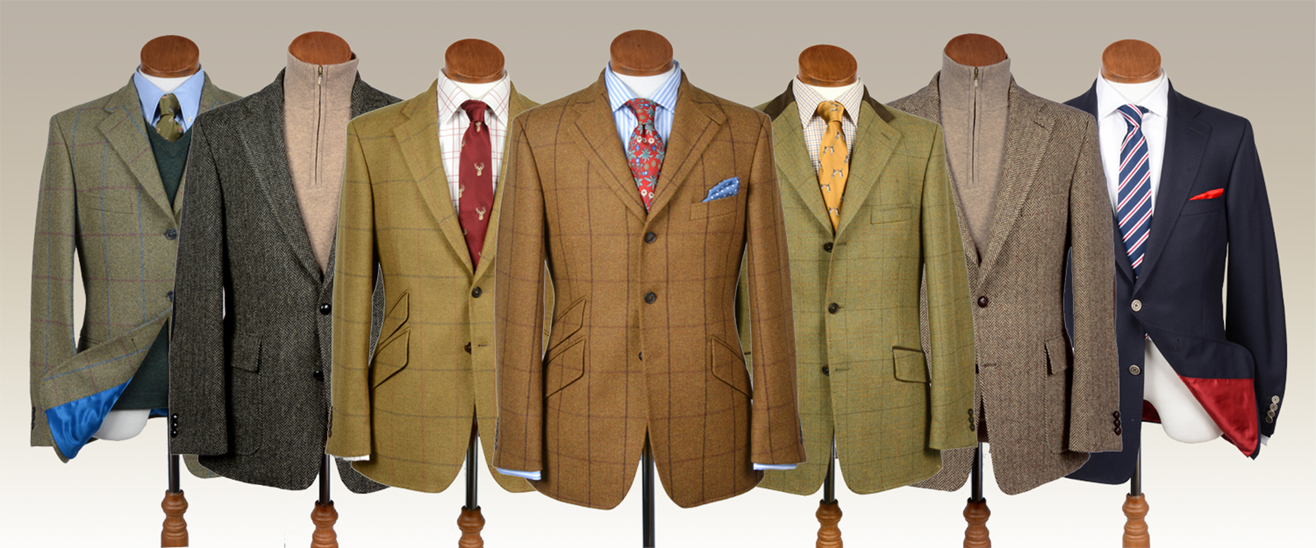Ready to Wear Tweed Jackets and Blazers