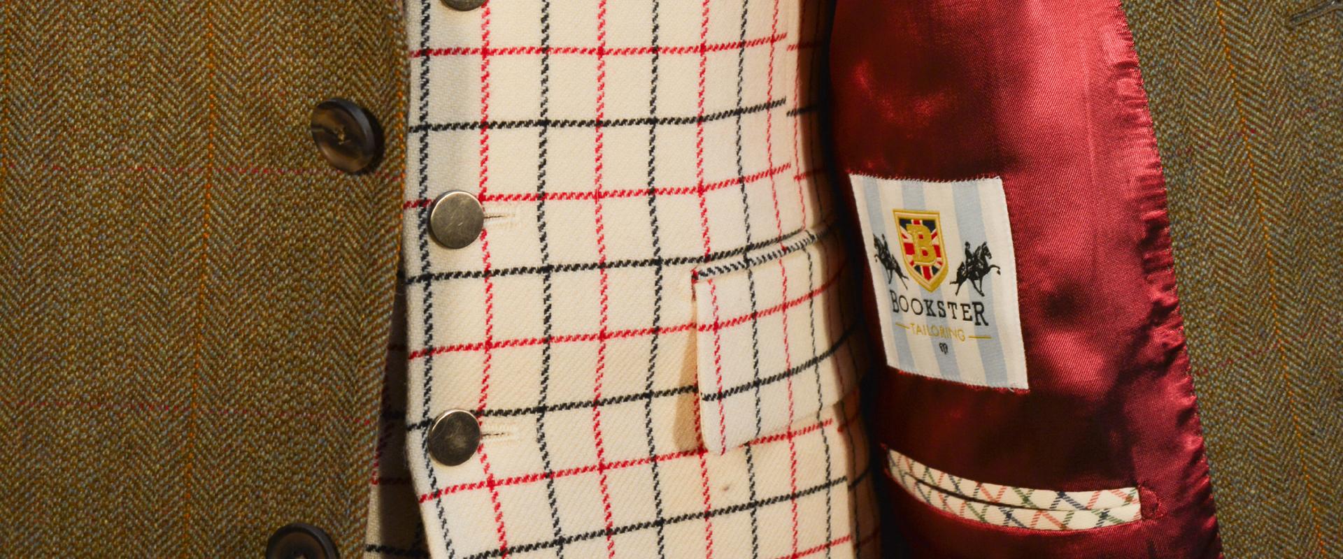 Hunter Tweed Jacket with Tattersall Waistcoat