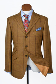 Mens Bookster Baxter Tweed Hacking Jacket