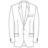 Made to Measure Single Breasted Classic Jacket - Suiting
