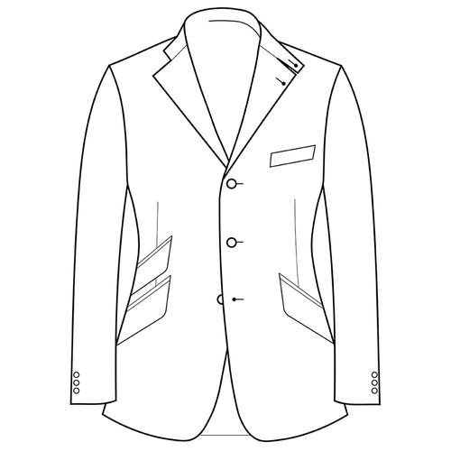 Made to Measure Hacking Jacket - Coating