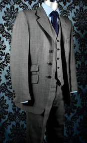 Fine Grey Prince of Wales Suit
