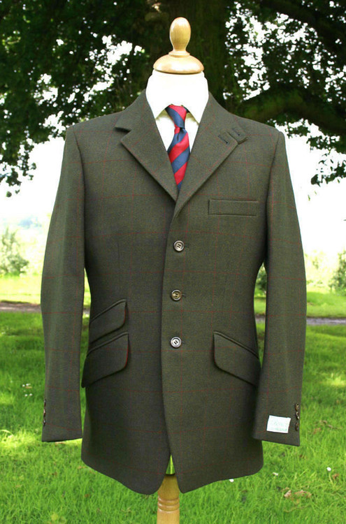 Leven Tweed Hacking Jacket