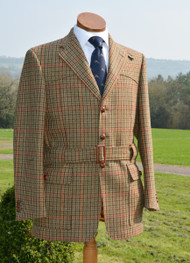 Chatsworth Tweed Full Norfolk Jacket