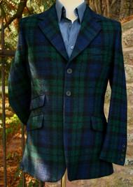 Blackwatch Harris Tweed Jacket