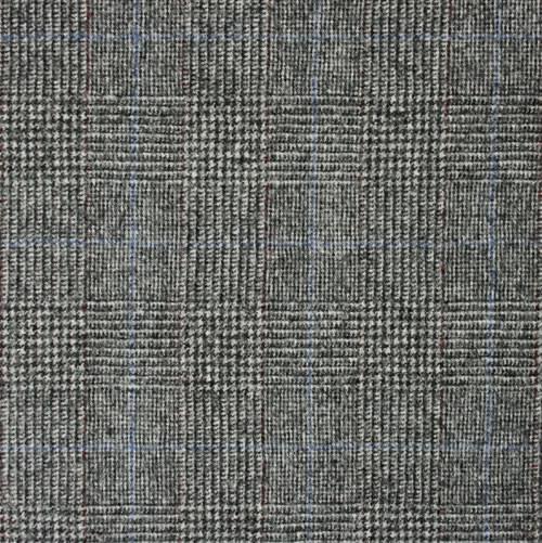 Grey Pow Check Flannel