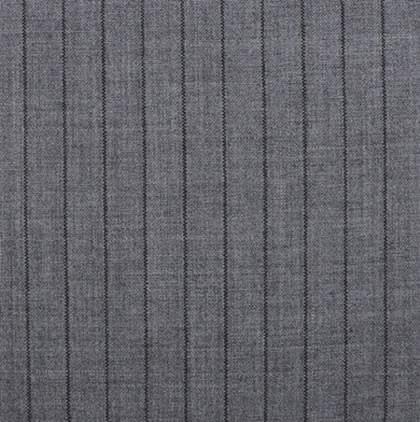 Grey Black 1.25 Chalk Stripe
