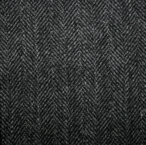 Charcoal Grey Herringbone