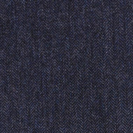 Dark Blue Herringbone Tweed