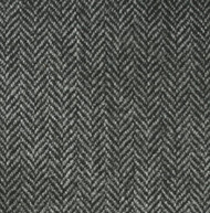 Mid Grey Herringbone Tweed