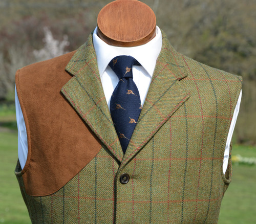 Duneagle Tweed Shooting Vest
