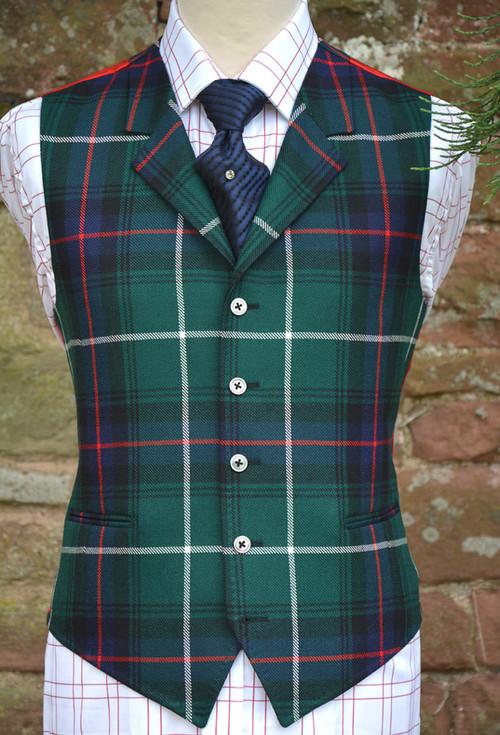 MacDonald of the Isles Tartan Waistcoat