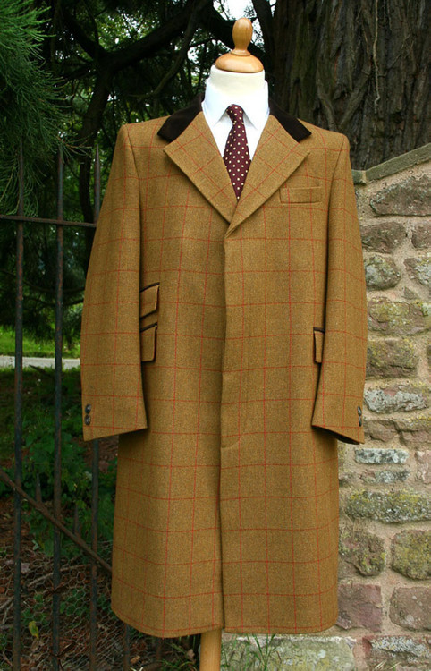 Murray Tweed Overcoat