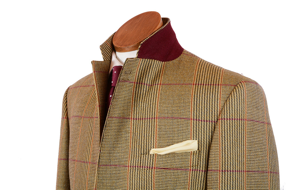 Mens Bookster Russell Check Tweed Jacket Bookster Tailoring
