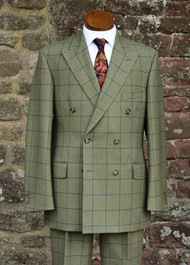 Grosvenor Double Breasted Tweed Suit 2