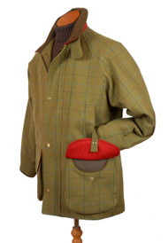 Mens Bookster Tweed Water Resistant/Breathable Field Coat
