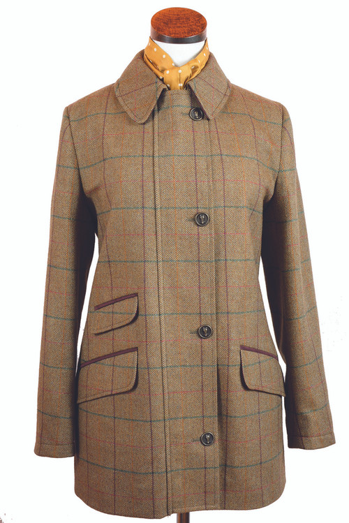 Women's Tweed Field Jacket 1