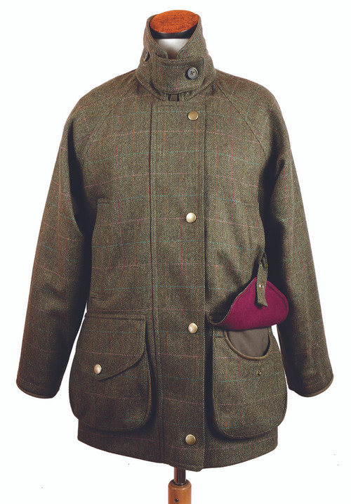 Womens Tweed  Field Coat