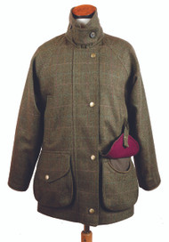 Womens Bookster Tweed Water Resistant/Breathable Field Coat