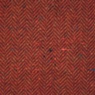 Burnt Orange Herringbone Donegal Tweed