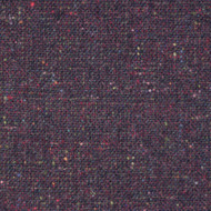 Aubergine Donegal Tweed