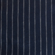 Navy Stripe Linen