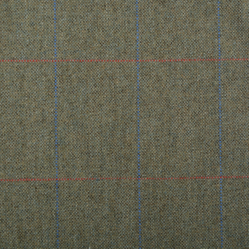 Green Check Thornproof Tweed