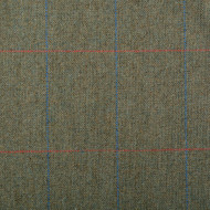 Green Check Thornproof Tweed