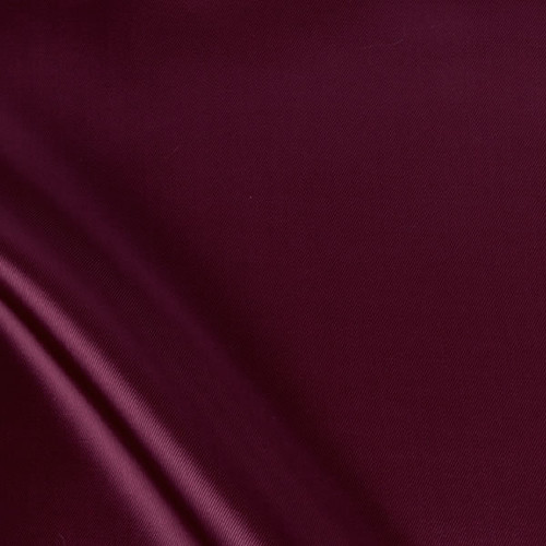 Burgundy Viscose Twill