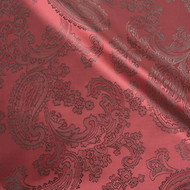 Victorian Red 50/50 Acetate Viscose