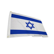 Israel Zion Flag Outdoor and Indoor