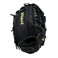 Vinci Pro Mesh Series AB74-VM Womens Fastpitch Glove Black 13 inch