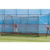 Crusher Pitching Machine & HomeRun Batting Cage