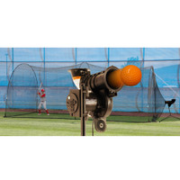 PowerAlley Lite Pitching Machine and PowerAlley Batting Cage
