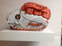 "Custom Vinci Limited Series 13.5"" 1st Baseman's Glove  - Orange/White"