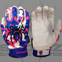 2015 Spiderz LITE Splinter Camo- Royal Blue/Pink/White