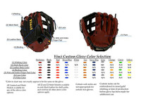 Design your own Vinci Custom Limited or Mesh Series Glove